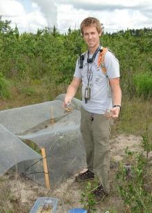 Dan Quinn at tortoise release