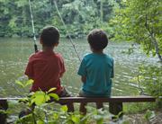 Ft Mtn boys fishing