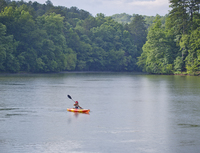 Don Carter State Park kayaking