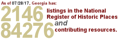 2146 Georgia listings now in the National Register
