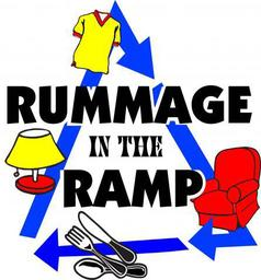 Rummage in the Ramp logo