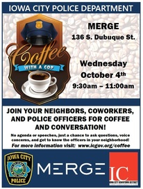 Coffee with a Cop - Sept. 2017