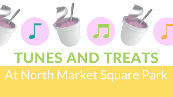 Tunes and Treats graphic