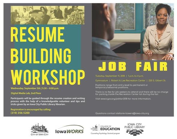 Job Fair graphic