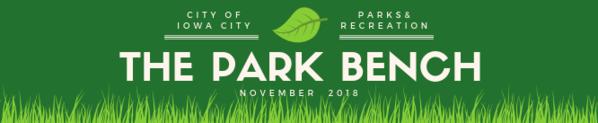 November 2018 Park Bench Newsletter Header