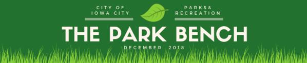 Park Bench Newsletter header Dec. 2018