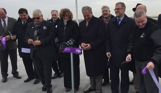Route 390 opening