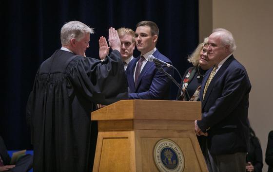 Hart inauguration