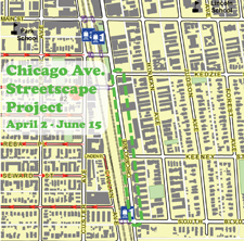 Chicago Ave Streetscape