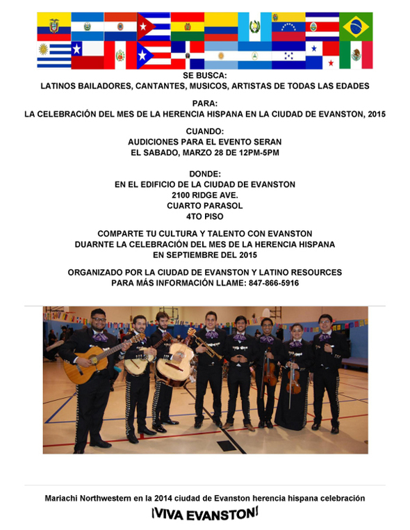 Latino Resources Auditions