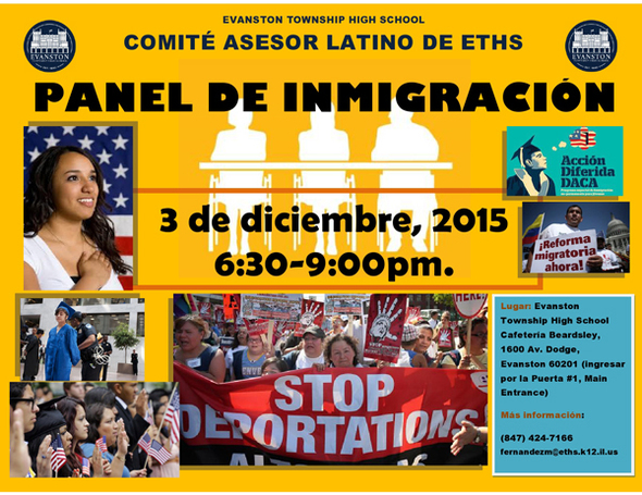 Immigration Panel flyer