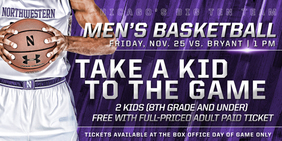 Take a Kid to the Game ad