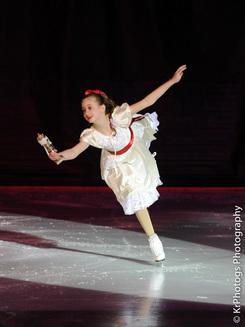 Nutcracker Clara skater