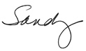 Sandy Hart Signature