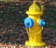 hydrant flushing 2017