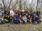 Forest Preserve volunteers