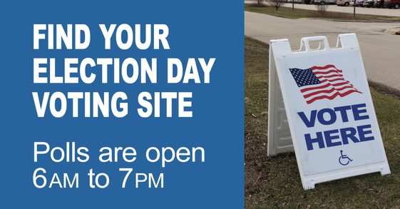Find your election day voting site