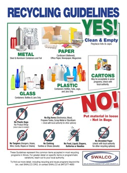 2018 Recycling Guidelines
