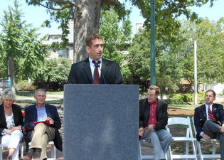 Seminary Square Dedication