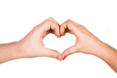 Owh feb heart hands