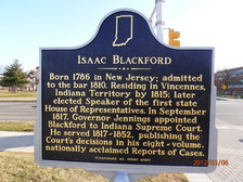 Side 1, Blackford Historical Marker