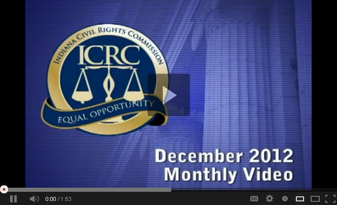 Monthly Video December 2012