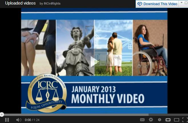 Jan. 2013 Monthly Video