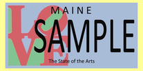 maine plate