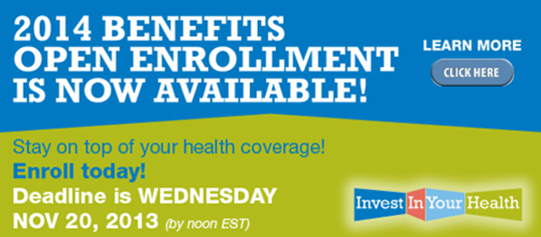 Open Enrollment is now available