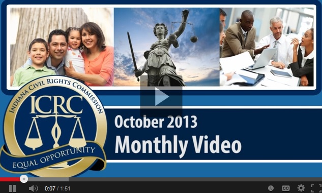 October 2013 Monthly Video