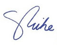 Governor Pence signature