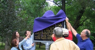 Marker Unveiling