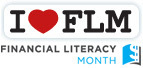 I Love Financial Literacy Month badge