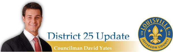 District 25 Update - Councilman David Yates