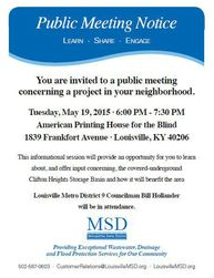MSD meeting post