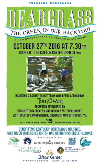 Beargrass Creek Documentary Poster