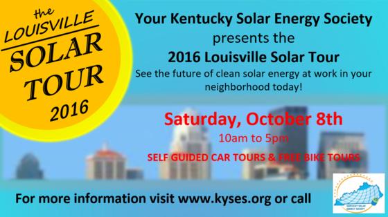 solar tour flyer