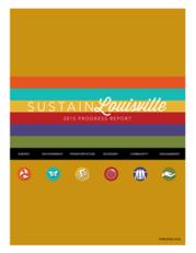 cover - 2015 Sustain Louisville Progress Report