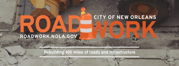 city of new orleans road work