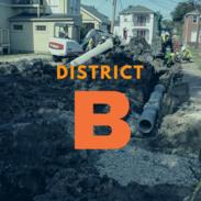 district b