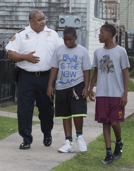 NOPD Crime Walk Youth