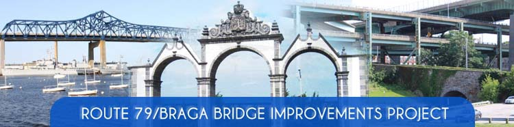 Route 79/Braga Bridge Project Traffic Detours