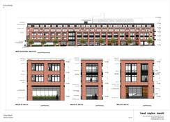 Drawing of Proposed Union Wharf Apartments