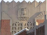 Image of Details Atop Dunbar High School