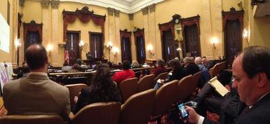 Image of City Council Hearing on TransForm Baltimore