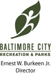 LOGO:Department of Recreation and Parks, Ernest Burkeen, Director