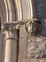 Photo of Architectural Details on AME Church
