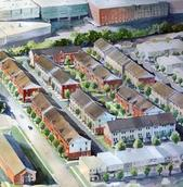 Design drawing of Greektown PUD