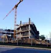 Photo of Business School under construction