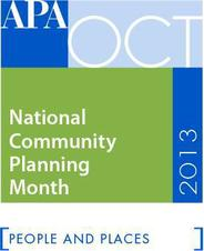 Community Planning Month Logo